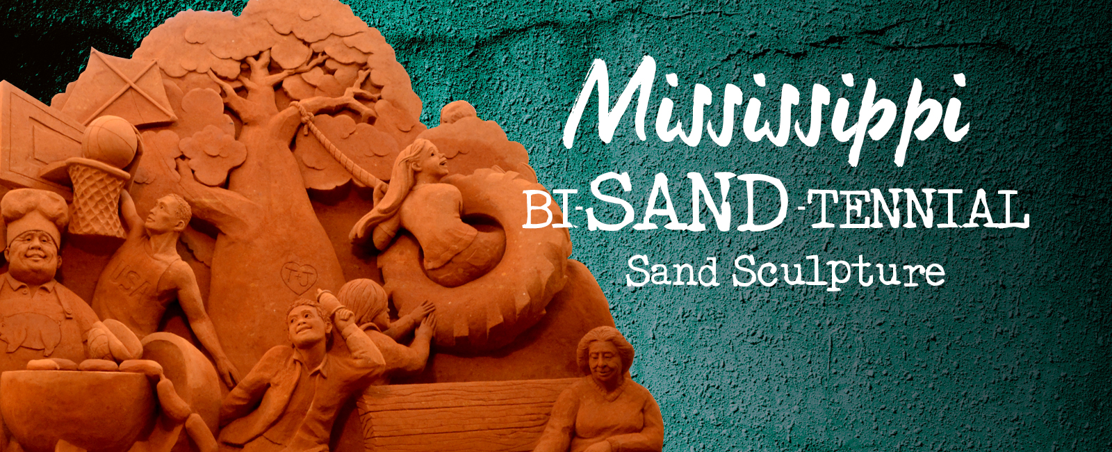 Sand Sculpture at Edgewater Mall